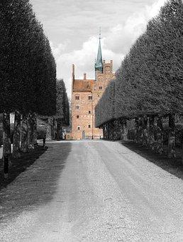 Egeskov, Castle, Fyn, Denmark, Egeskov Castle
