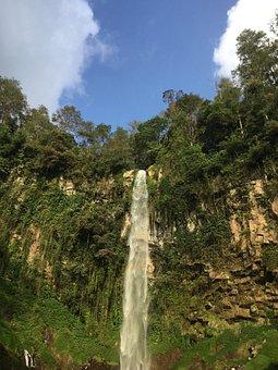 Cascades, Grojogan Sewu, Java, Indonesia