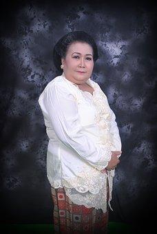 Woman, Mother, Javanese Clothes, Javanese, Indonesia