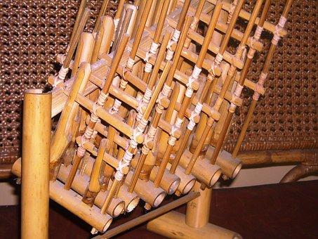 Angklung, Tool, Music, Traditional, Sunda, Java, West