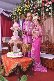 Marriage, Married Couple, Couple, Wedding, Traditional