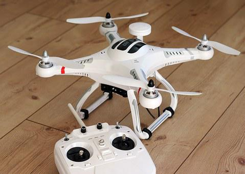 Quadrocopter, Drone, Model, Propeller, Fly, Camera