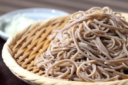 Soba Noodles, Near, Buckwheat, Japanese Food