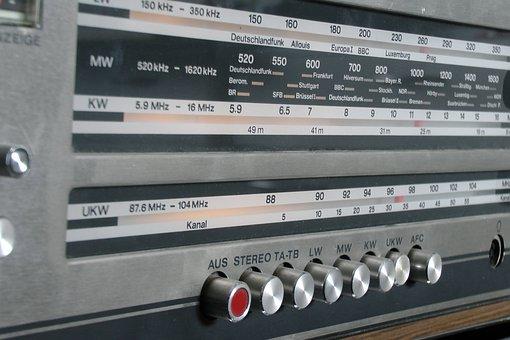 Radio, Retro, Reception, Transmitter, Nostalgia, Fm