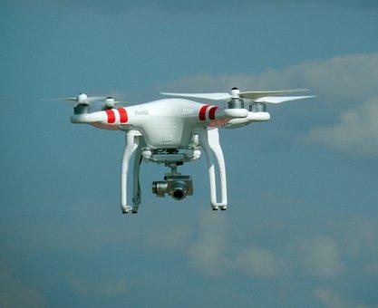 Drone, Espionage, Camera, Spy, Nsa, Quadrocopter, Model