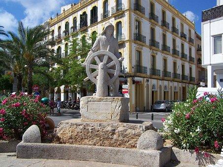 Monument, Sailor, Navigator, Statue, Landmark, Port