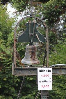 Bell, Marker, Old, Board, Fare, Portugal