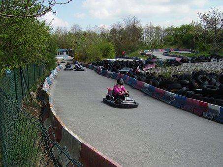 Karting, Kart, Go Kart, Race Track, Go Kart Track