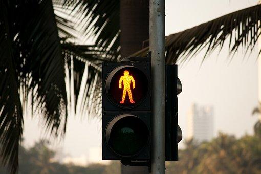 Traffic Lights, Red, Stop, Don't Walk, Signal, Traffic