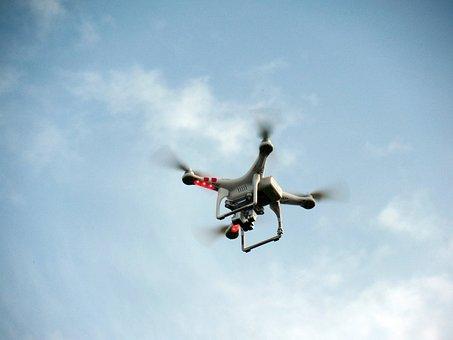 Quadricopter, Quadrocopter, Propeller, Model, Rotors