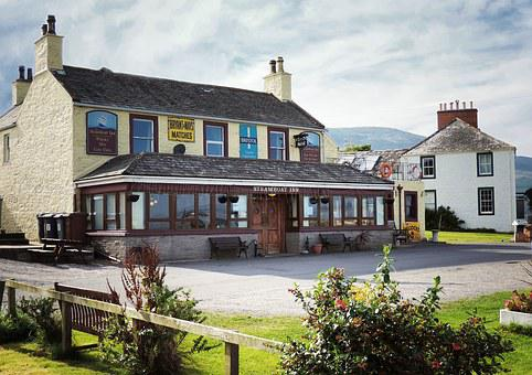 Steamboat Inn, Carsethorn, Dumfries, Galloway, Solway