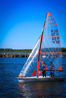 Sailing Boat, 29er, Boot, Sailing, Sail, Summer