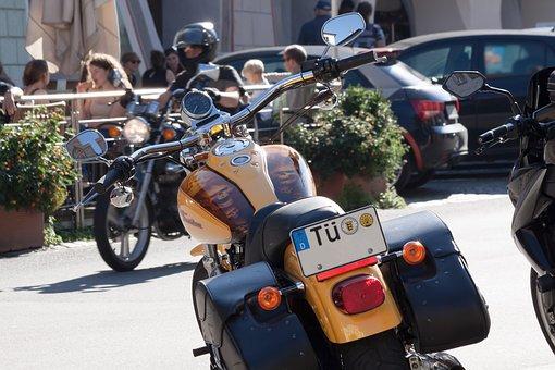 Harley Davidson, Motorcycle, Chrome, Cult, Luxury, Tank