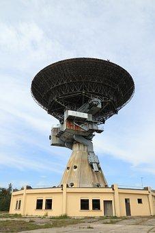 Latvia, Irbene, Soviet, Radio, Telescope, 32, Dish