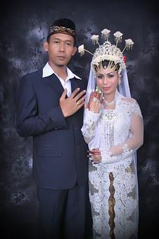 Marriage, Together, Wedding Couple, Ceremony