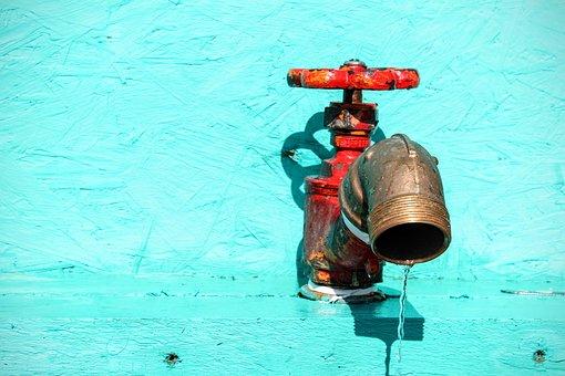 Faucet, Water, Hahn, Turn On, Liquid, Drip, Metal