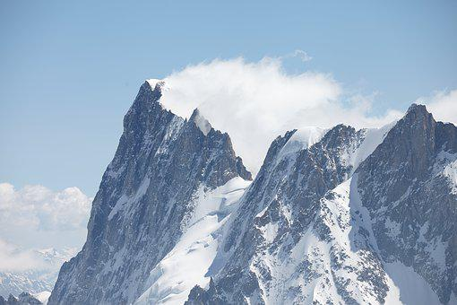 Chamonix, Wind Swept, Peaks, Mountains, Wind, Landscape