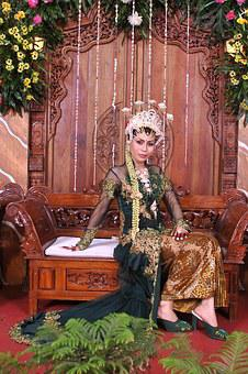 Marriage, Woman, Bride, Traditional, Clothes, Wedding
