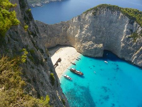 Zakhyntos, Zakintosz, Shipwreck, Island Attractions