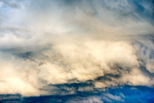 Clouds, Weather, Agitated, Thunderstorm