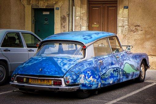 Auto, Oldtimer, French, Classic, Automotive, Vehicle