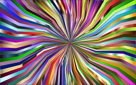 Starburst, Sunburst, Background, Hypnotic