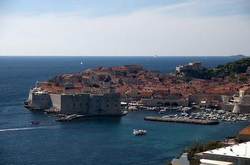 Dubrovnik, Croatia, Architecture, City, Dalmatia
