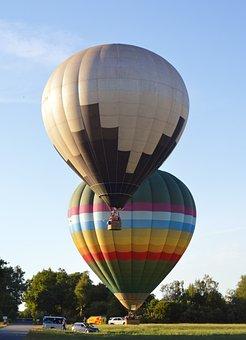 Hot Air Balloon, Captive Balloon, Drive