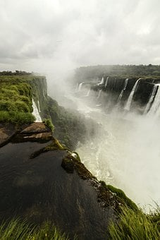 Waterfall, Water, Falls, Niagara, River, Nature