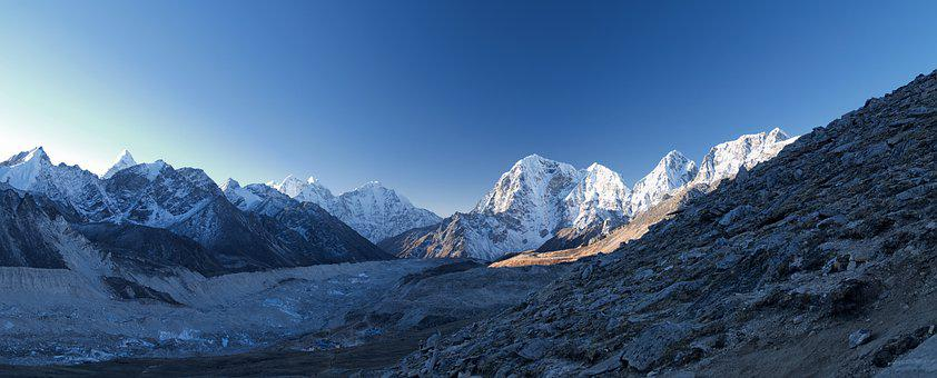Nepal, Everest, Khumbu, Glacier, Mountain, Himalayas