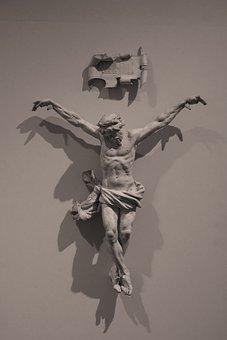 Christ, Crucifixion, Plaster Cast, Religion, Suffering