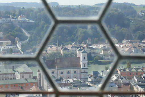 Passau, Altstadt, Historically, Bavaria, Inn, Church