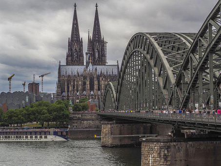 Architecture, Cologne, City, Rhine, Dom
