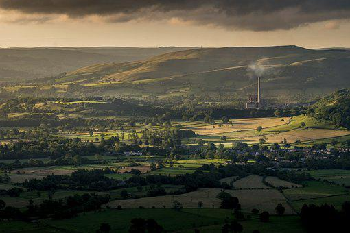 Hope Valley, Cement Works, Peak District