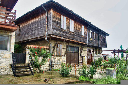 House, Architecture, Wooden, Home