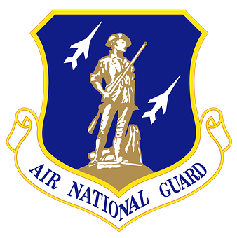 Air National Guard, Emblem, Sign, Symbol, Military