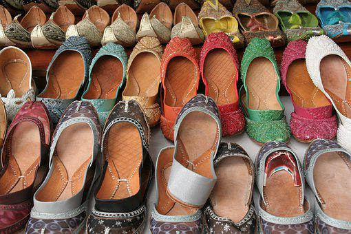 Shoes, Patterns, Colourful