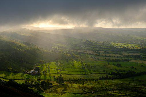 Hope Valley, Peak District, Derbyshire