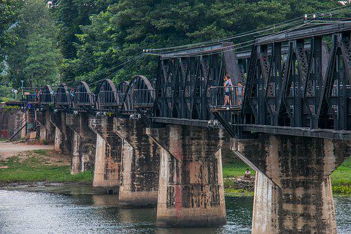 Bridge, Ancient, Train, History, Railroad