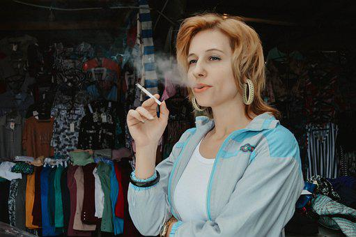 Market, 90s, Russia, 1990, Dashing Nineties, Saleswoman