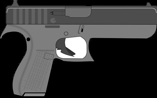 Gun, Sleeve, Shoot, Weapon, Shooting, Drawing