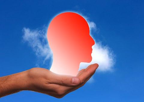 Hand, Keep, Head, Silhouette, Profile Presentation