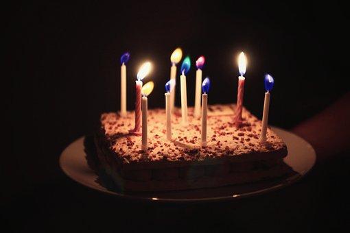 Birthday, Cake, Food, Sweet, Dessert, Chocolate