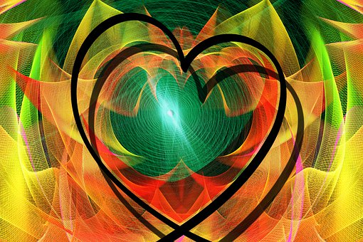 Heart, Love, Particles, Valentine'S Day