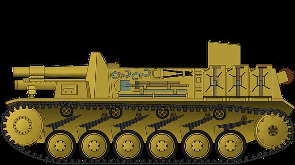 Tank, Panzer, Armor, Military, War