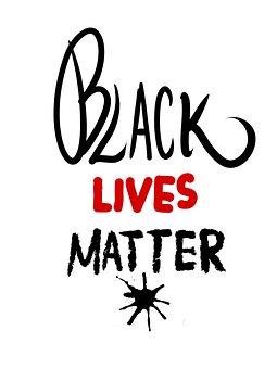 Black Lives Matter, Racism, Equality, Font