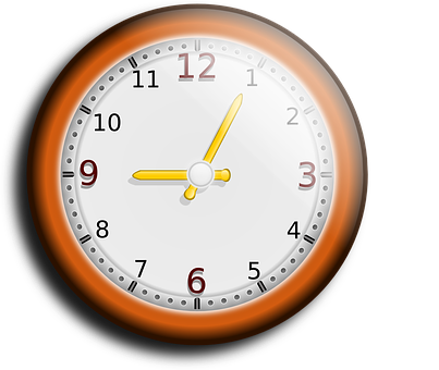 Clock, Hour, Minute, Second, Time, Wall Clock