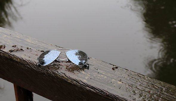 Summer, Sunglasses, Rain, Glasses, Raindrop, Rained Out
