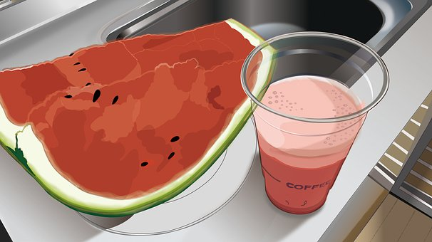 Watermelon, Watermelon Juice, Juice, Fruit, Summer