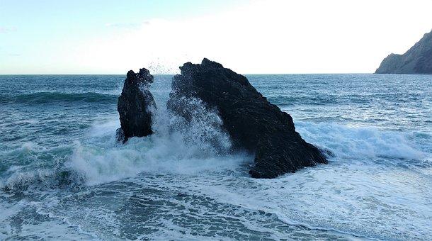 Nature, Sea, Ocean, Landscape, Water